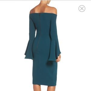 Bardot Dresses - $119 BARDOT Solange Off the Shoulder Midi Dress